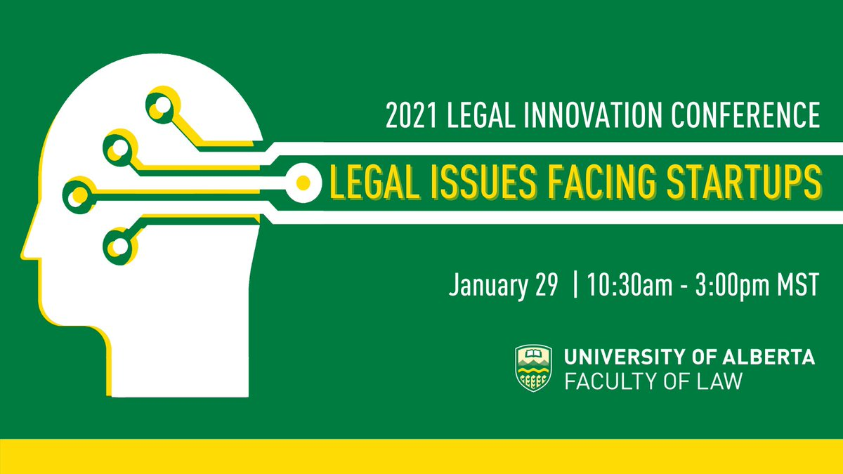 Hear from lawyers helping startups & from startups who need legal guidance at the 2021 Legal Innovation Conference! On Jan 29, learn about business challenges & how the legal community can help mitigate them REGISTER: ow.ly/jQzn50DcSPQ READ MORE: ow.ly/Xjlo50DcST1
