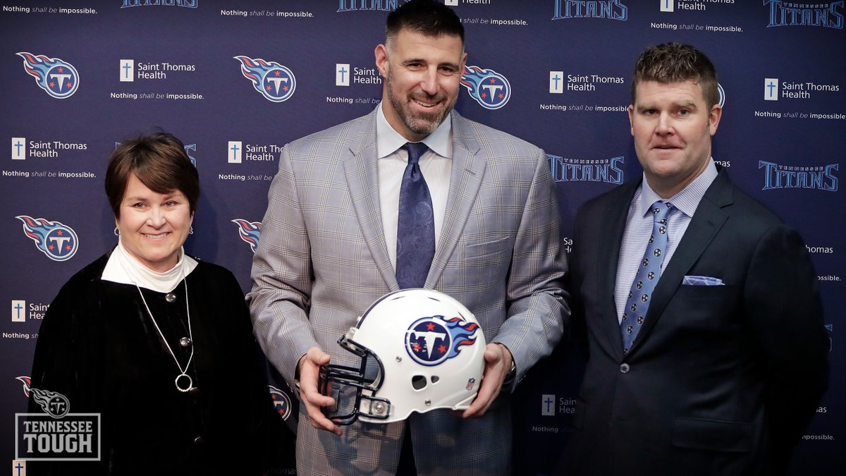 Replying to @Titans: Three years ago today, @CoachVrabel50 was named the head coach of the Tennessee Titans.