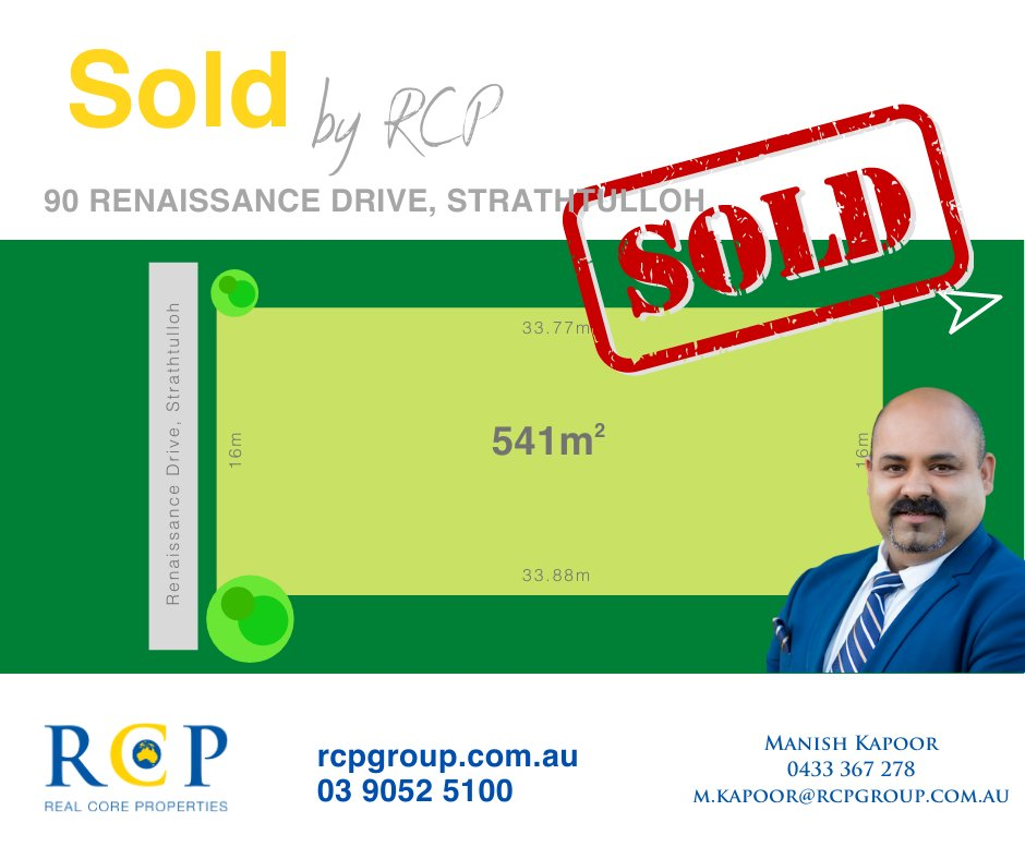 SOLD - MORE PROPERTIES WANTED! Contact Team RCP 03 9052 5100 #RCP #JUSTLISTED #FORSALE #REALESTATE #TEAMJATINDER https://t.co/B3P4WfXvH9