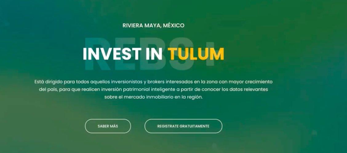"""¡México te necesita!   Y puedes ser parte de la reactivación económica del país ¿cómo? Registrándote al evento #REBSummit """"Invest in Tulum"""", un icono mundial y una de las zonas más importantes de nuestro país. https://t.co/rde9chiw1f https://t.co/e1UKCKwXKH"""