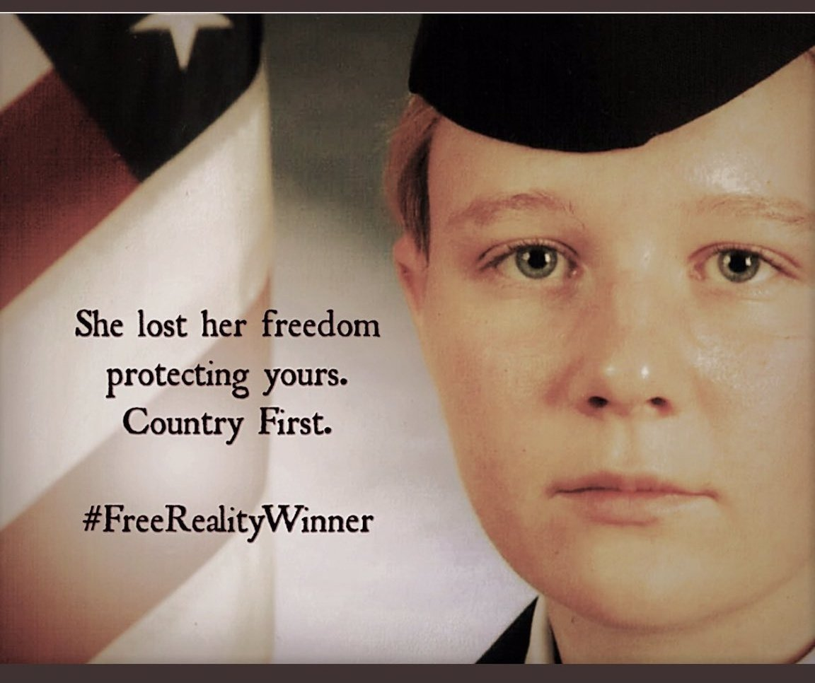 @POTUS The time to heal and undo the horrible acts of the last four years is now.  The time to #FreeRealityWinner is now.