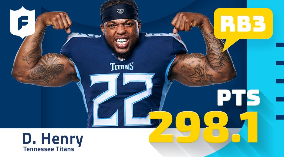 Games of 200+ rush yds in 2020. Derrick Henry: 3 Rest of the NFL: 2 (via @verizon)