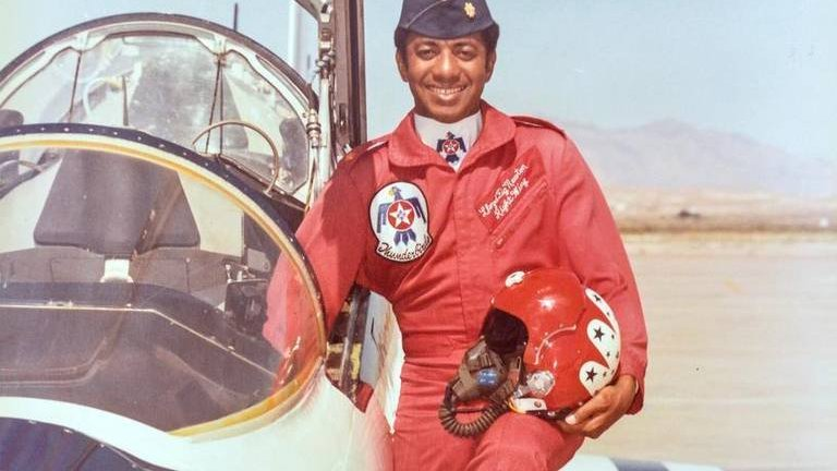 "Still going... #HBCU first: @TSUedu alum Lloyd W. ""Fig"" Newton is the 1st African-American pilot in the @usairforce Thunderbirds"