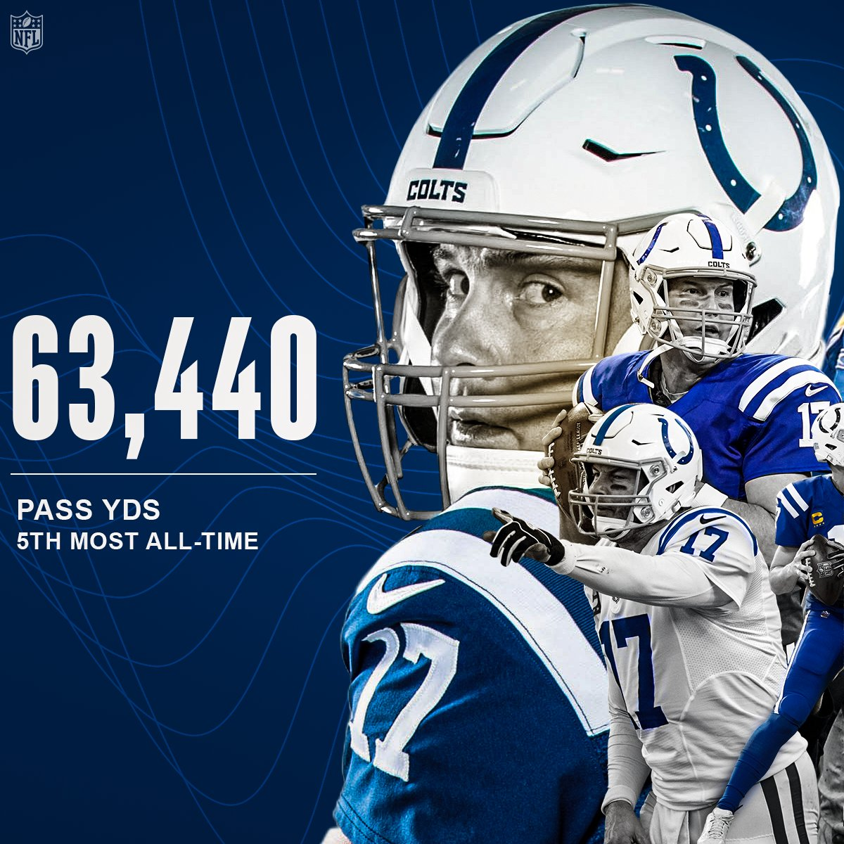 5th all-time in passing yards and TDs 📈  @Colts | @Chargers