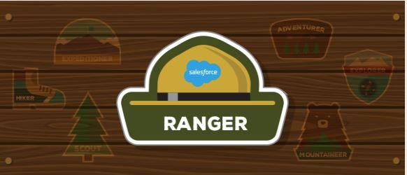 My first Ranger rank! 🎉☁🐐🌄On to #2! #Trailhead #Ranger #Salesforce