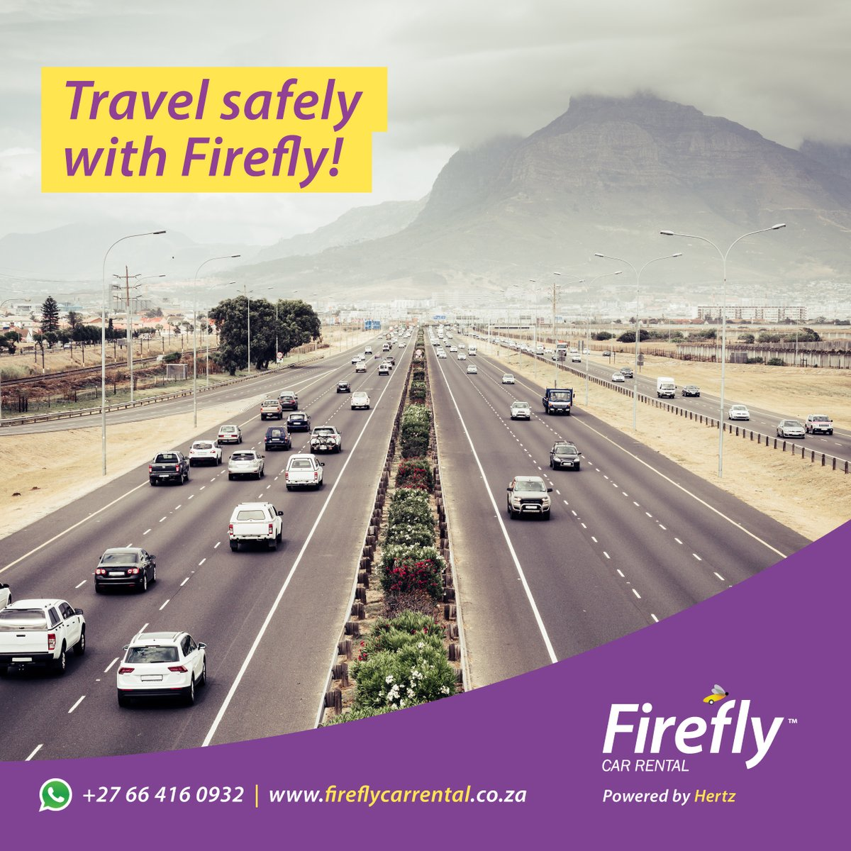 Our cars are cleaned after each use.  This means you can travel safely and with peace of mind when renting from Firefly.  Book a car from us today: .  #Firefly #CarRental #Travel #GoThere #Wanderlust