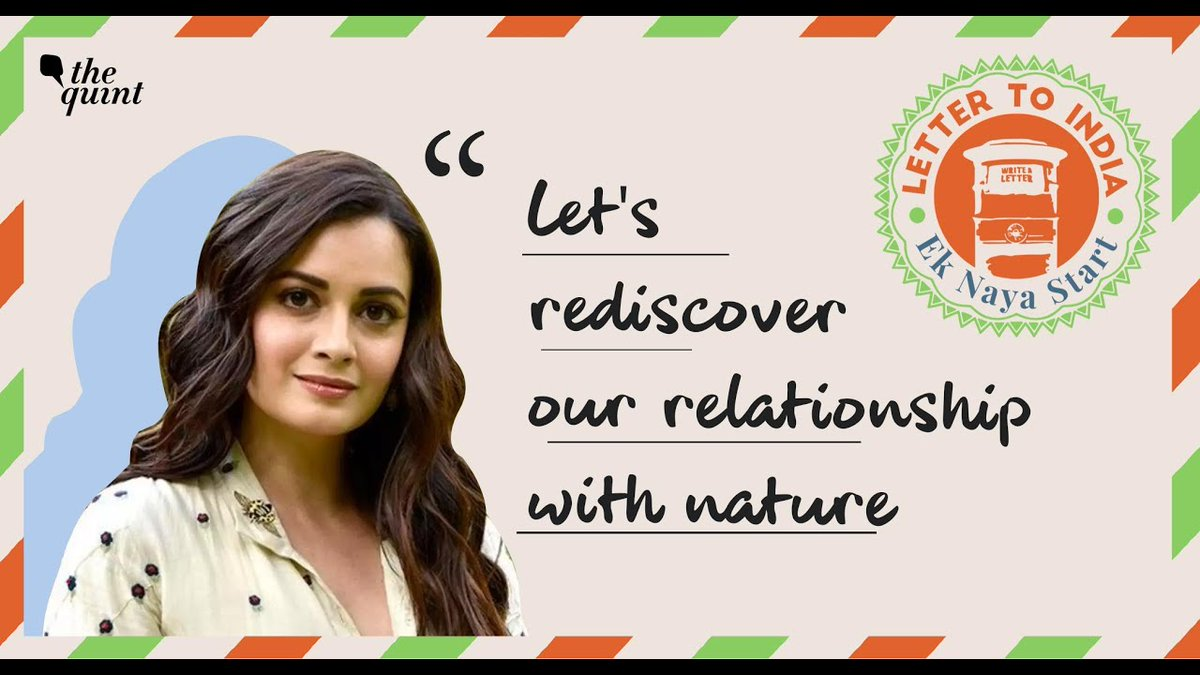 In her #LetterToIndia, actor, producer and UN Environment Goodwill Ambassador @deespeak urges us all to start afresh, and bring #environmental consciousness into our daily lifestyle. Read more here: