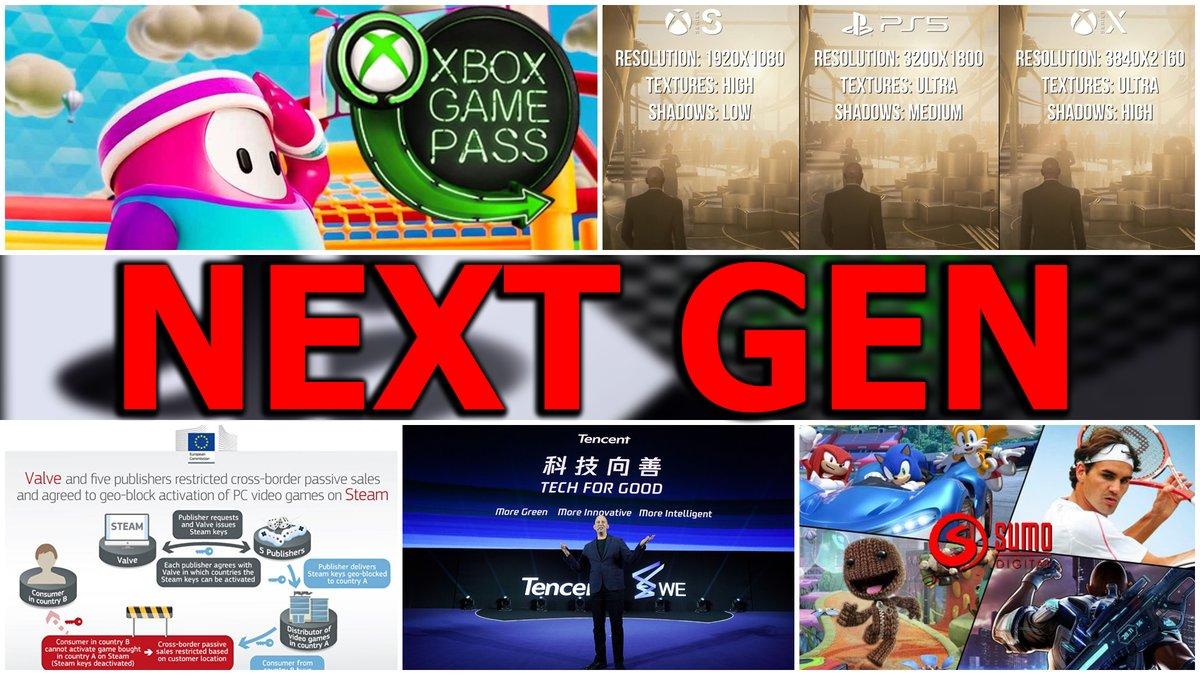 PRIMER GOLPE DE REALIDAD ENTRE LA POTENCIA DE #PS5  FRENTE #XboxSeriesX  | #FallGuys SE DESMIENTE PARA #GamePass | #VALVE ES SANCIONADA POR LA COMISIÓN EUROPEA | #Tencent Y SUS GRANDES INVERSIONES EN VÍDEOJUEGOS▶️https://t.co/pATW6W6ykd https://t.co/ZzgESUtmqL
