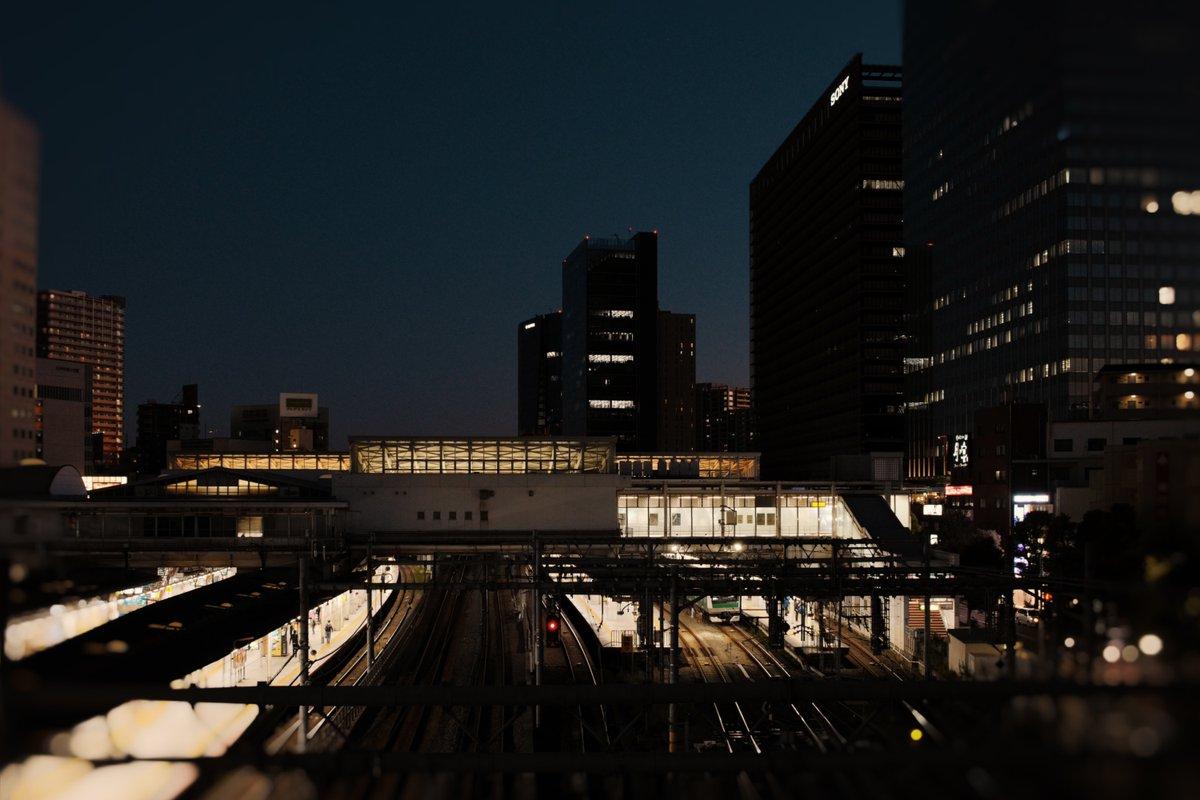いつかの大崎駅  (VSCOが使いやすくなってたのでiPadで編集テスト)  #summicron23mm #leica #leicacl  #vsco #tokyo #osaki