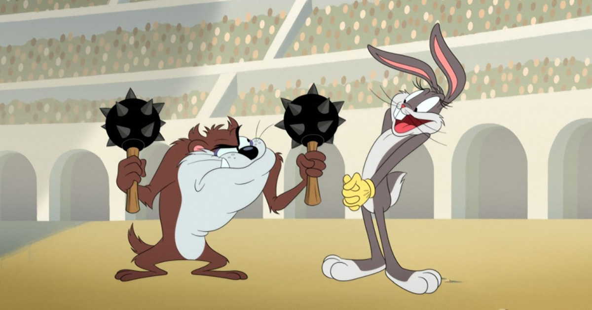Replying to @ComicBook: It's Taz versus Bugs Bunny in a new Looney Tunes Cartoons clip from HBO Max!