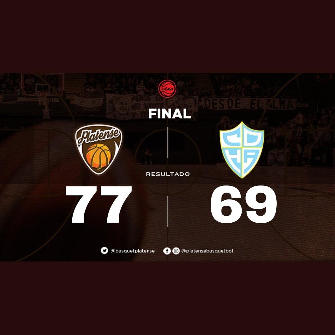 #Platense vs #HispanoA   77-69  Triunfo Calamaaarrr!!! #Platense obtuvo su quinta victoria consecutiva, en un partido con altibajos, frente a #HispanoA.  #CAPvsCDH #ZonaUnica  #LigaNacional #EstadioObrasSanitarias #VamosPlatenssseee