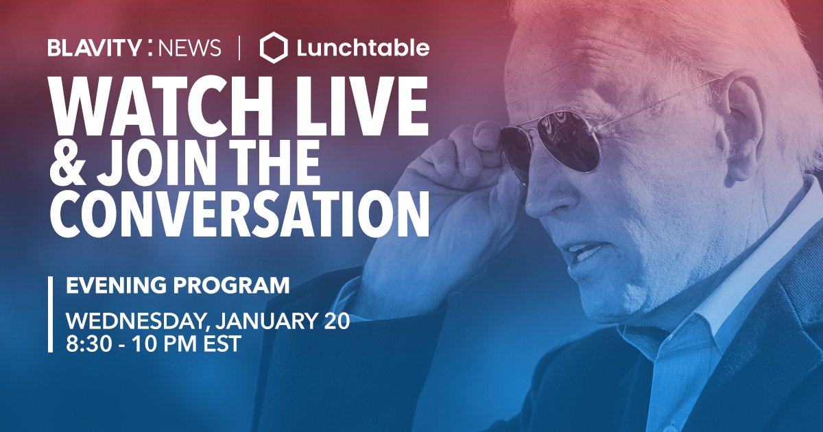 The 59th Presidential Inauguration's primetime special #CelebratingAmerica is LIVE 📺  The celebration will include performances + remarks from @JoeBiden, @KamalaHarris, @KerryWashington, @JohnLegend & more!  Watch with us at  &  🔴