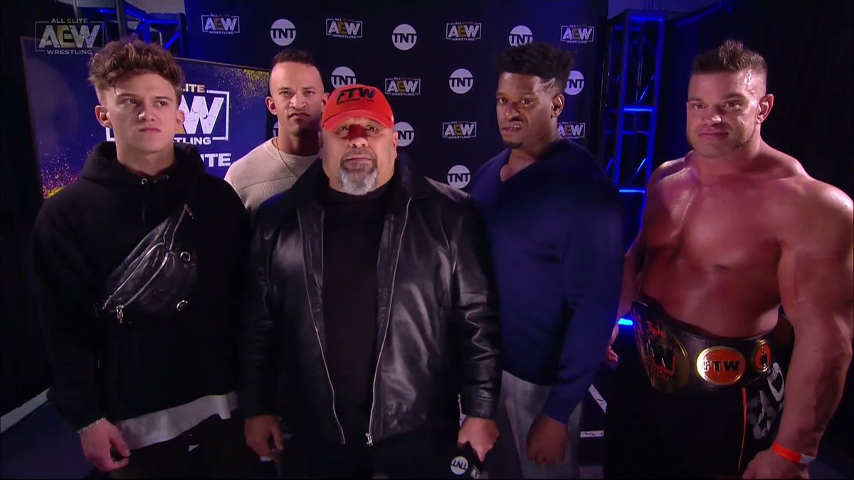 #AEWDynamite results: Team Taz issues a challenge to Darby Allin and Sting