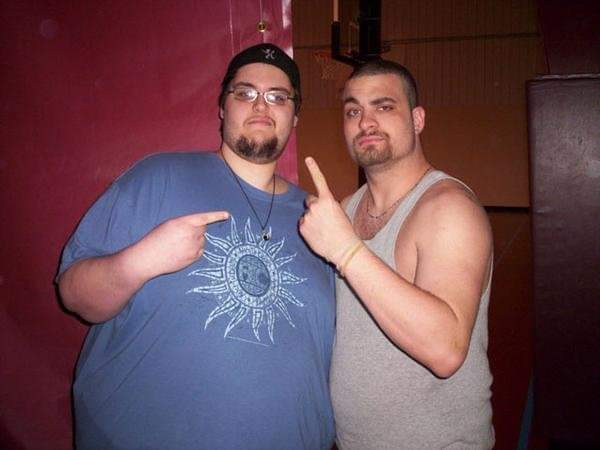 #PhotoOfTheDay with @MadKing1981 from April 2007! Been a fan since CHIKARA at the Wall VFW in 2003 and it's great to see King killing it every week on @AEW. It's been a long time coming, and nobody deserves it more.