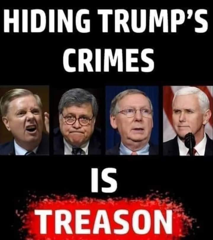 @GOPLeader Pick a side Kev. Grifter Insurrectionist or democracy. #AmericaOrTrump #AccountabilityBeforeUnity #ActionsHaveConsequences Remember? #GOPSeditiousTraitors #ConvictTrump