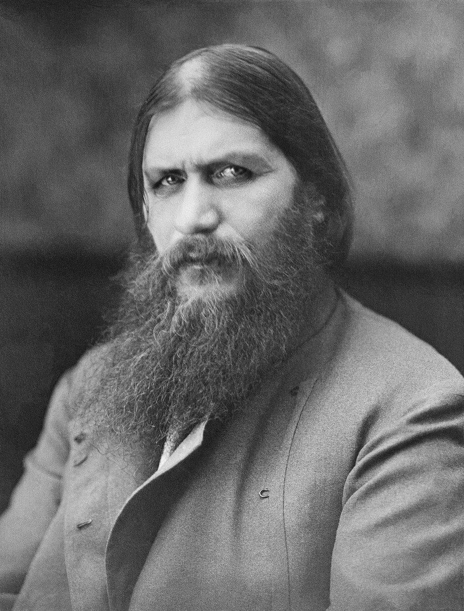 21 January 1869 - Grigori Yefimovich Rasputin, Russian mystic who became a confident for the Russian Royal family and who acted as healer to Alexei, the son of Tsar Nicholas II, is born in Siberia. #OTD #History #Rasputin #Russia #TsarNicholasII