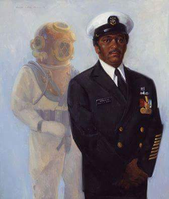 #HappyBirthday to Master Diver Carl M. Brashear! Born #OTD in 1931, Brashear had dreams of becoming a U.S. Navy Diver despite the many obstacles that would be in his path. Brashear's #integrity, #accountability, #initiative, and #toughness were essential in his becoming a