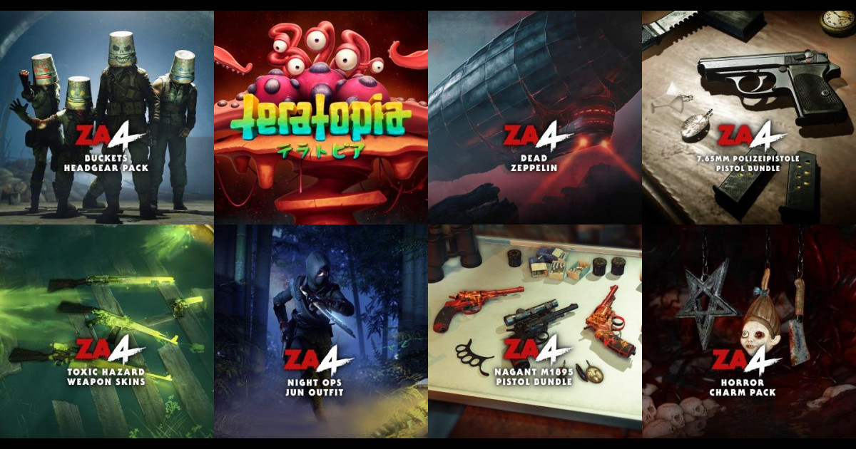 新着商品情報(2021/01/20)。Zombie Army 4: Bucket Headgear Bundleなど、9点が追加。 #PSStore #PS5 #PS4