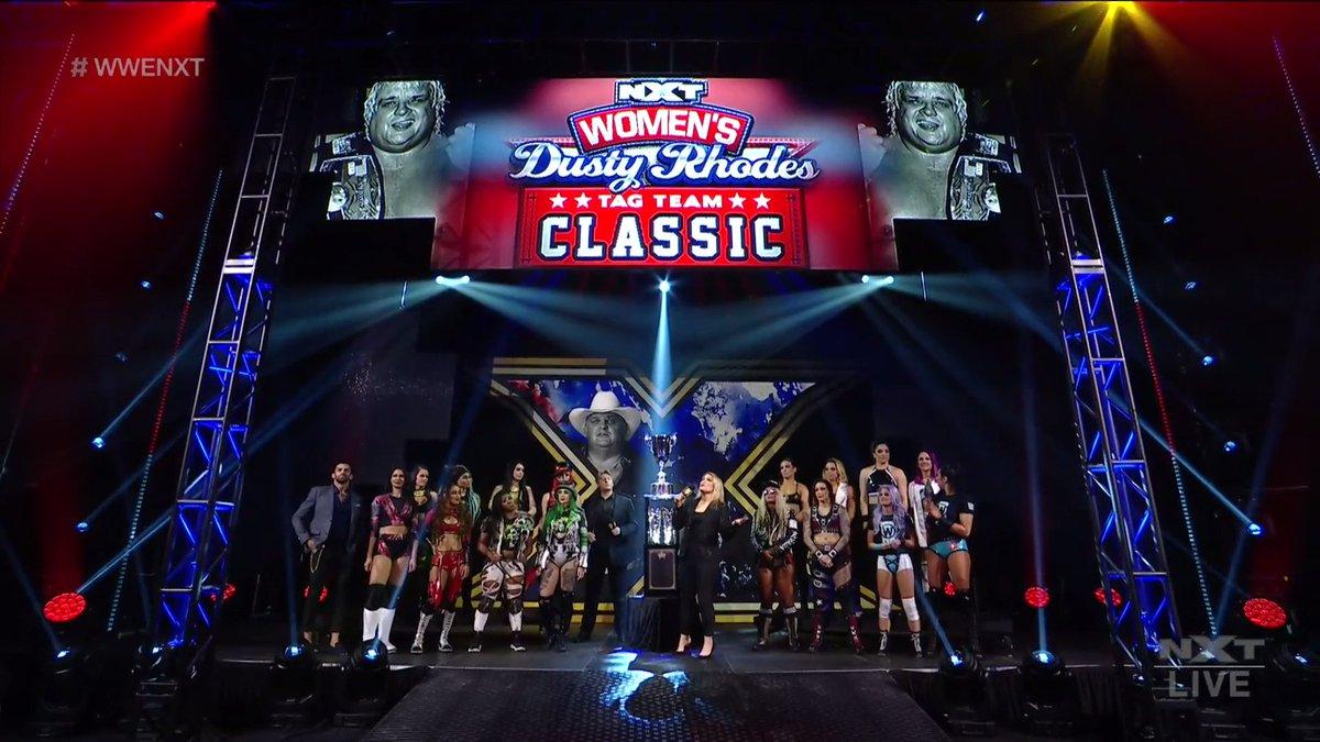 BEST. DIVISION. PERIOD.   #WWENXT #DustyClassic #WeAreNXT @TheBethPhoenix
