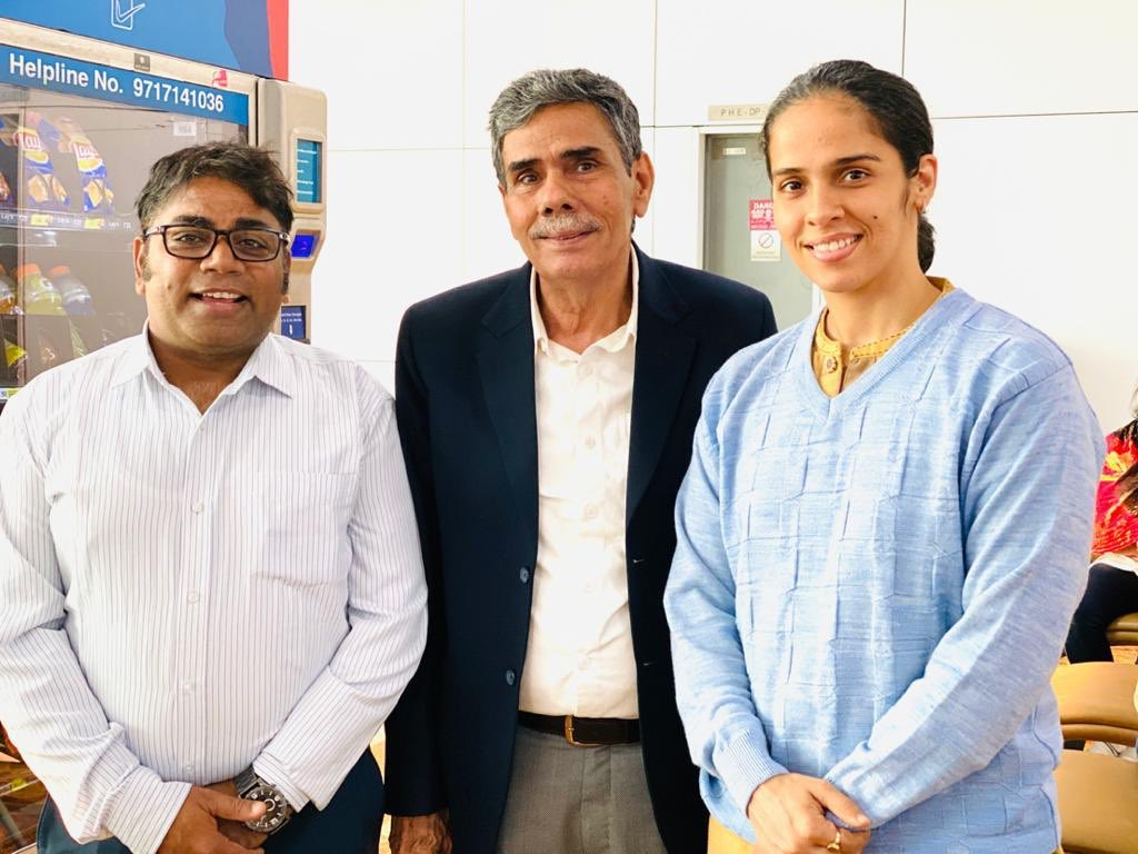@NHarvir wishing you a very very happy birthday 💐🎂👏👏 sir. It has been more than a year when I met you and @NSaina at @DelhiAirport last time. Have a great time sir !!🙏🏽🙏🏽