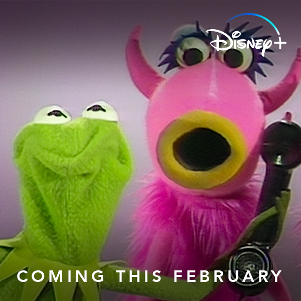 It's nearly showtime for February! Next month, stream new episodes of @MarvelStudios' #WandaVision, all five seasons of The Muppet Show, the Original Movie #FloraAndUlysses, and more.