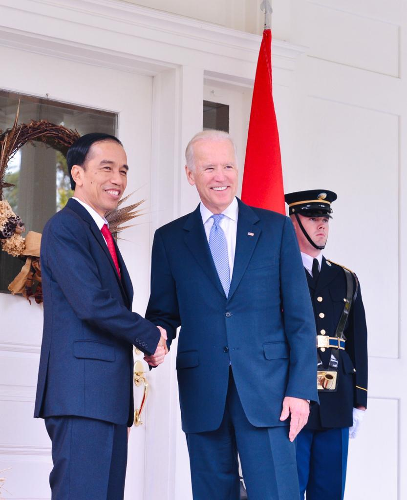 Congratulations @JoeBiden and @KamalaHarris on your inauguration as the 46th President and 49th Vice President of the United States.   Let us continue to strengthen our strategic partnership, not only for the benefit of our two nations, but for a better world for all 🇮🇩🇺🇸