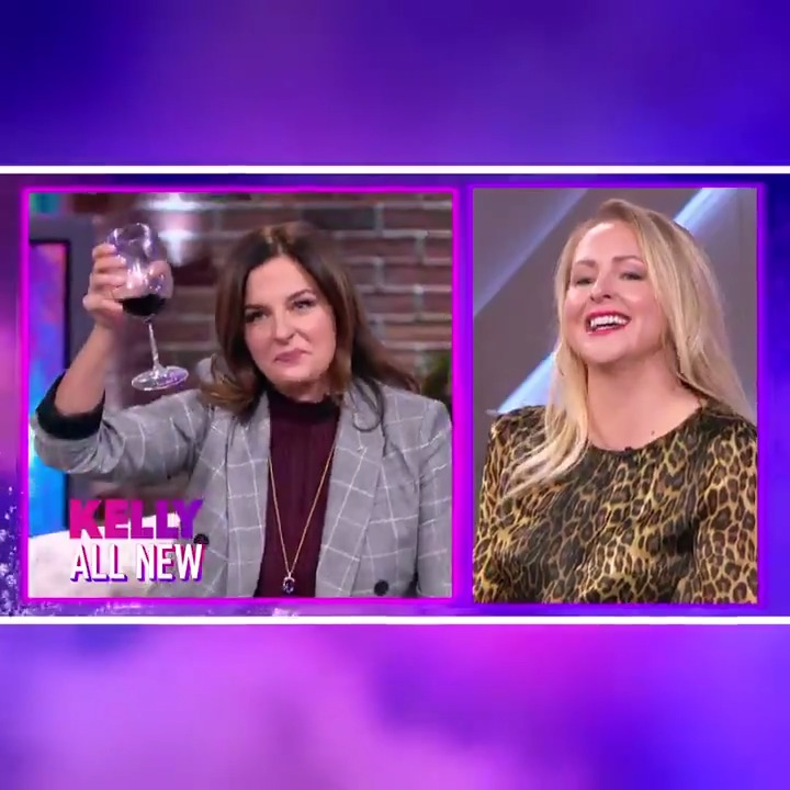 "Moms just wanna have fun! Pour a glass and take some ""me time"" for another #RadMomHour with @CatDeeley and Kristin & Jen of @imomsohard podcast!"