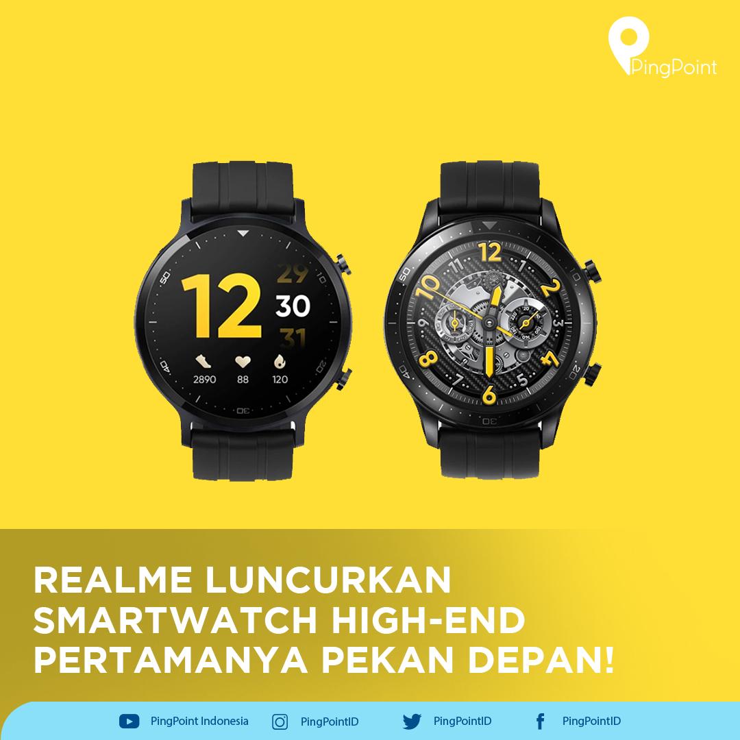 Melalui realme Watch S Pro, realme Indonesia mengawali awal tahun 2021 dengan meluncurkan produk smartwatch untuk kategori high-end perdananya!   #realme #realmeSmartwatch #realmeWatchS #realmeWatchSPro