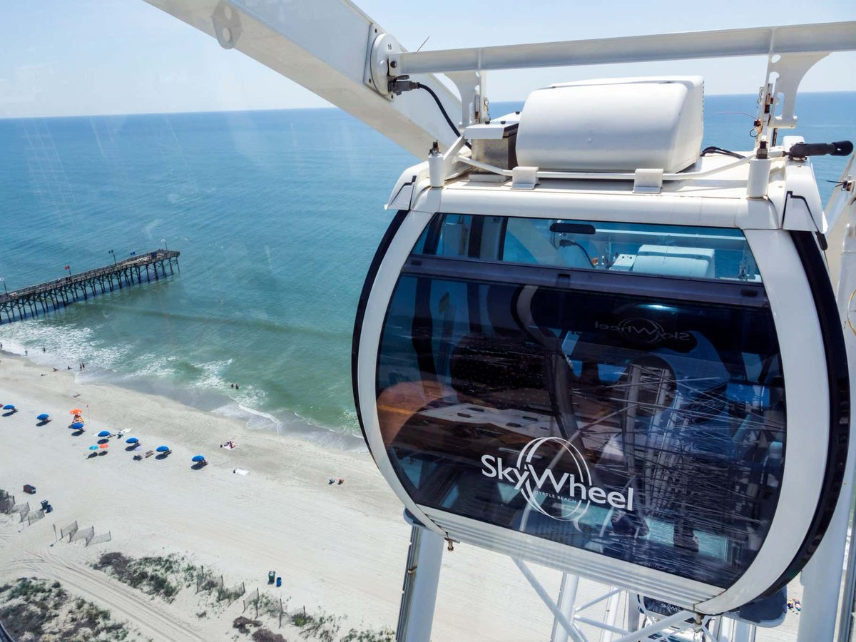 Couple Gets Arrested For Posting A Video Of Them Having Sex At The Most Romantic Place In The World... The Myrtle Beach SkyWheel