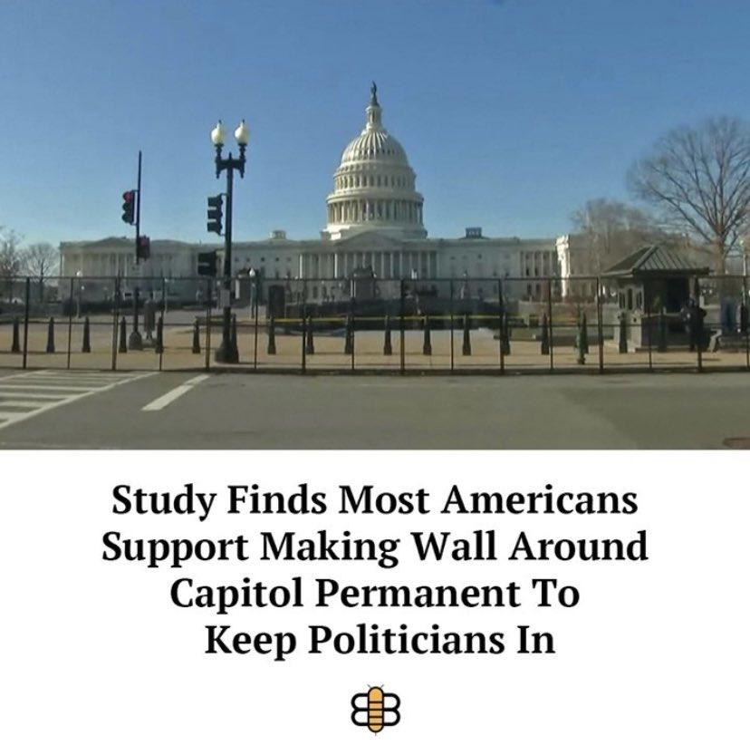 @TheBabylonBee making some sense!  #CapitolBuilding #republican #Biden #congress #AOC #liberal #Walls