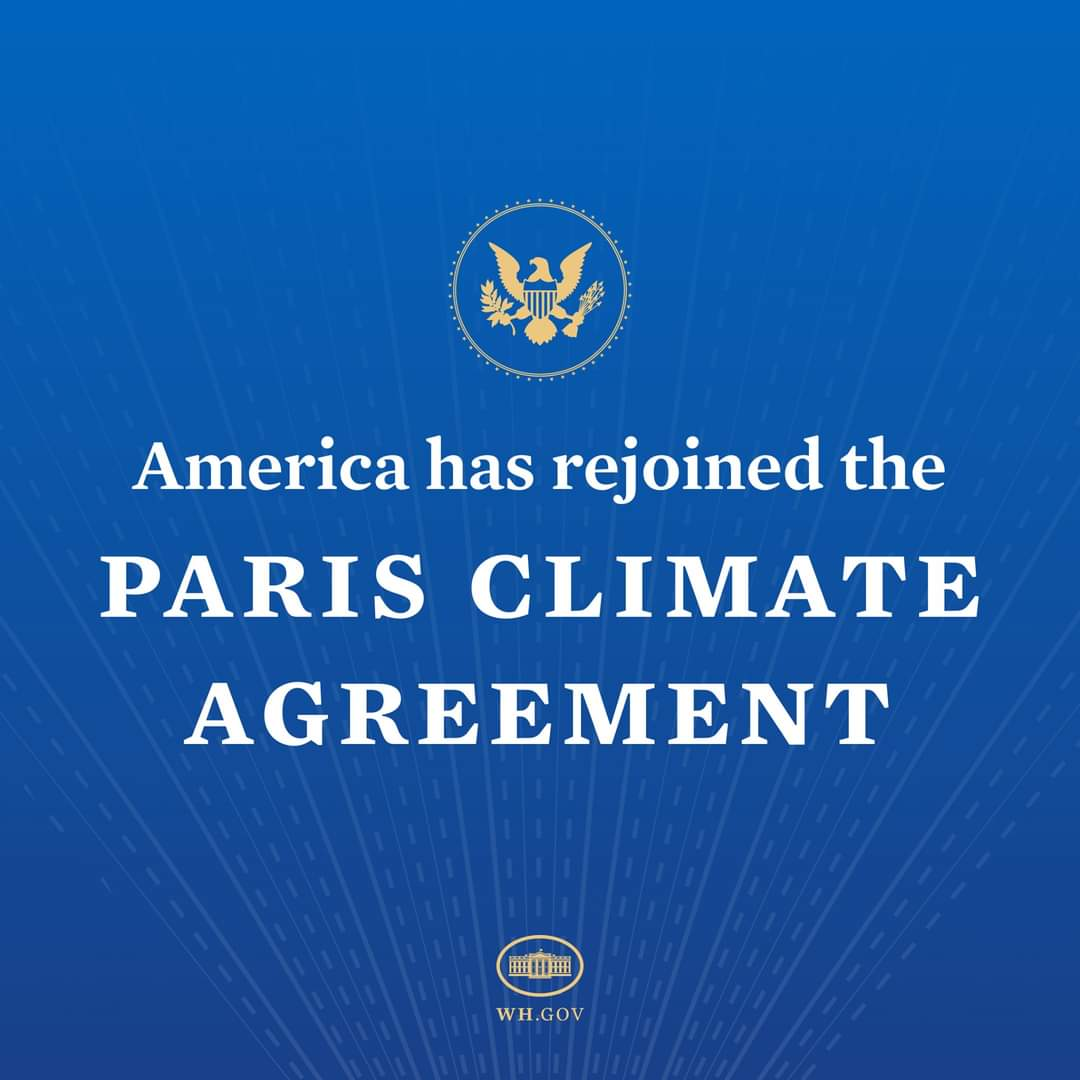 #America Rejoin Paris #ClimateAgreement This is the my main & only reason why I support & campaign for @JoeBiden & @KamalaHarris  1st day 1st Announcement... As an environmentalist, feeling proud & happy for what I am doing for future & sustainability. #ForNature  🌱☘️🍀🌿🍃🍂🌏