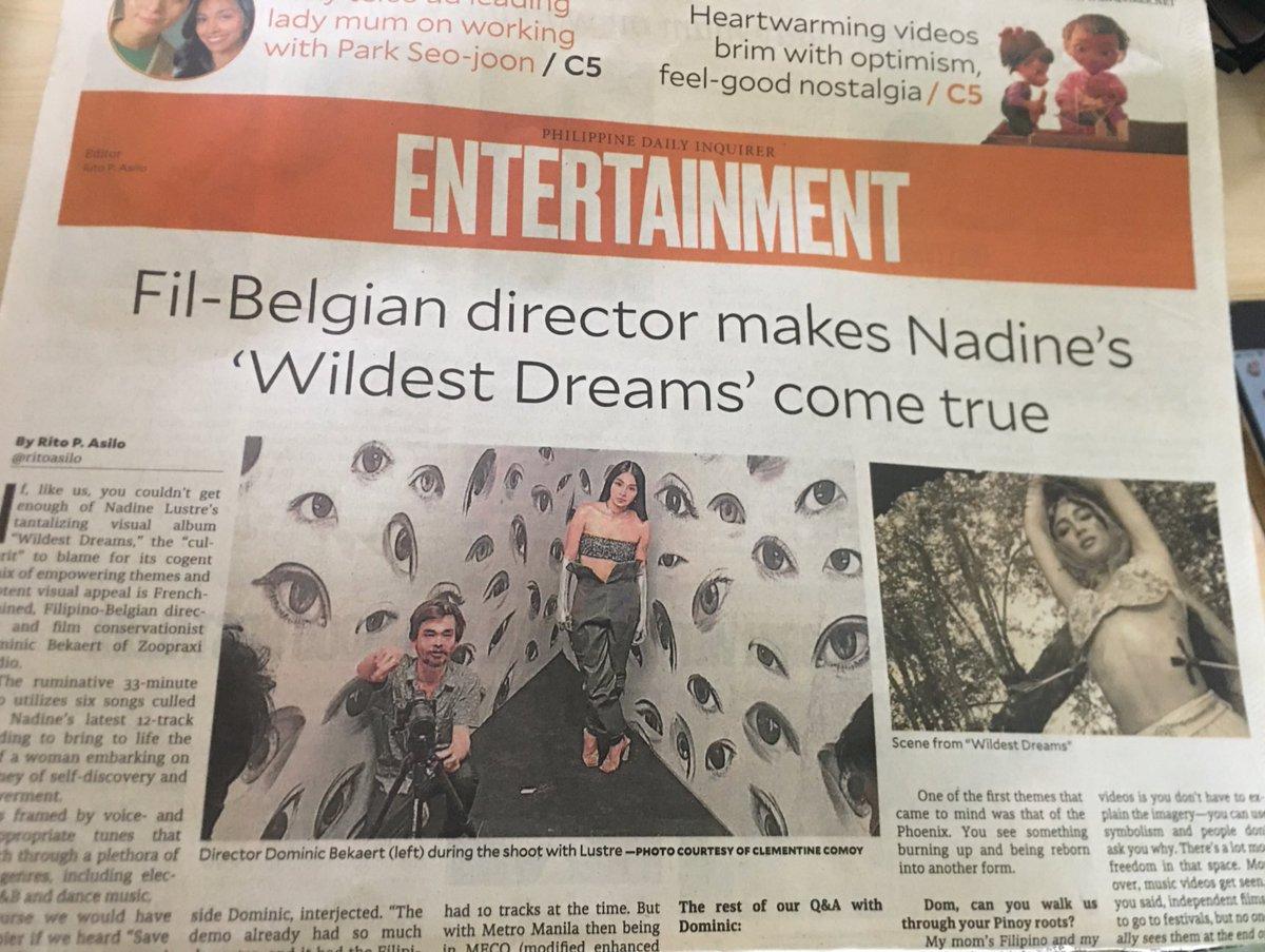 Hi Nadine Lustre and Direk Dominic Bekaert 😍  PDI - Entertainment  Nov2020 https://t.co/rfyurHVIyC