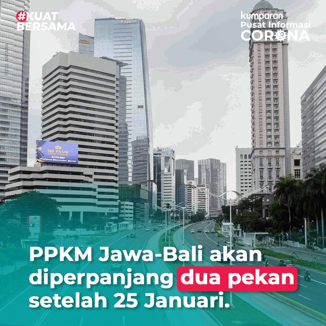 Kasus corona di Indonesia masih terus melonjak belakangan ini. Bahkan tembus 13-14 ribu per hari. Untuk itu, PPKM akan diperpanjang. Hal ini sesuai dengan keputusan rapat kabinet Selasa (20/1) sore. #TopNews