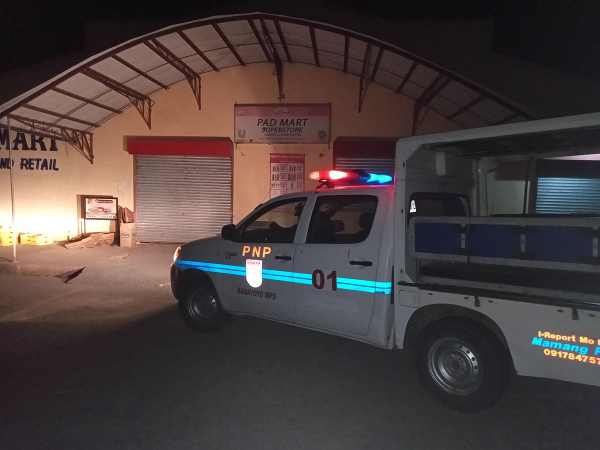 @pnpdpcr @pro1officialtw In relation to Provincial Director's Triple IMPACT Strategies, personnel of Banayoyo MPS conducted preventive mobile patrolling within AOR. #PNP #IlocosSurProvincialOffice #IlocosSur #GovRyanSingson #PBGENRodolfoAzurin #PNPChiefDeboldSinas