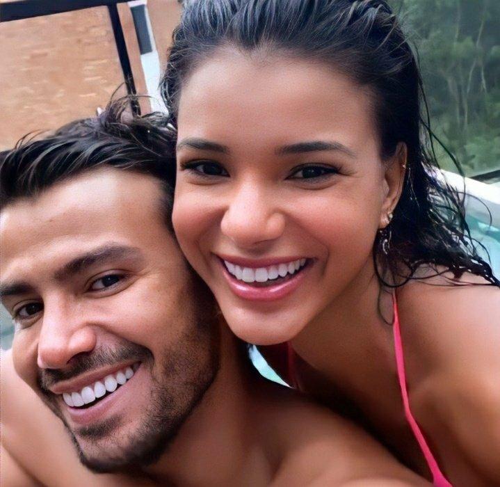 Feliz 20 dias de namoro que Deus continue abençoando esse casal mais lindo do mundo #Malyne ❤️😍👏🙏