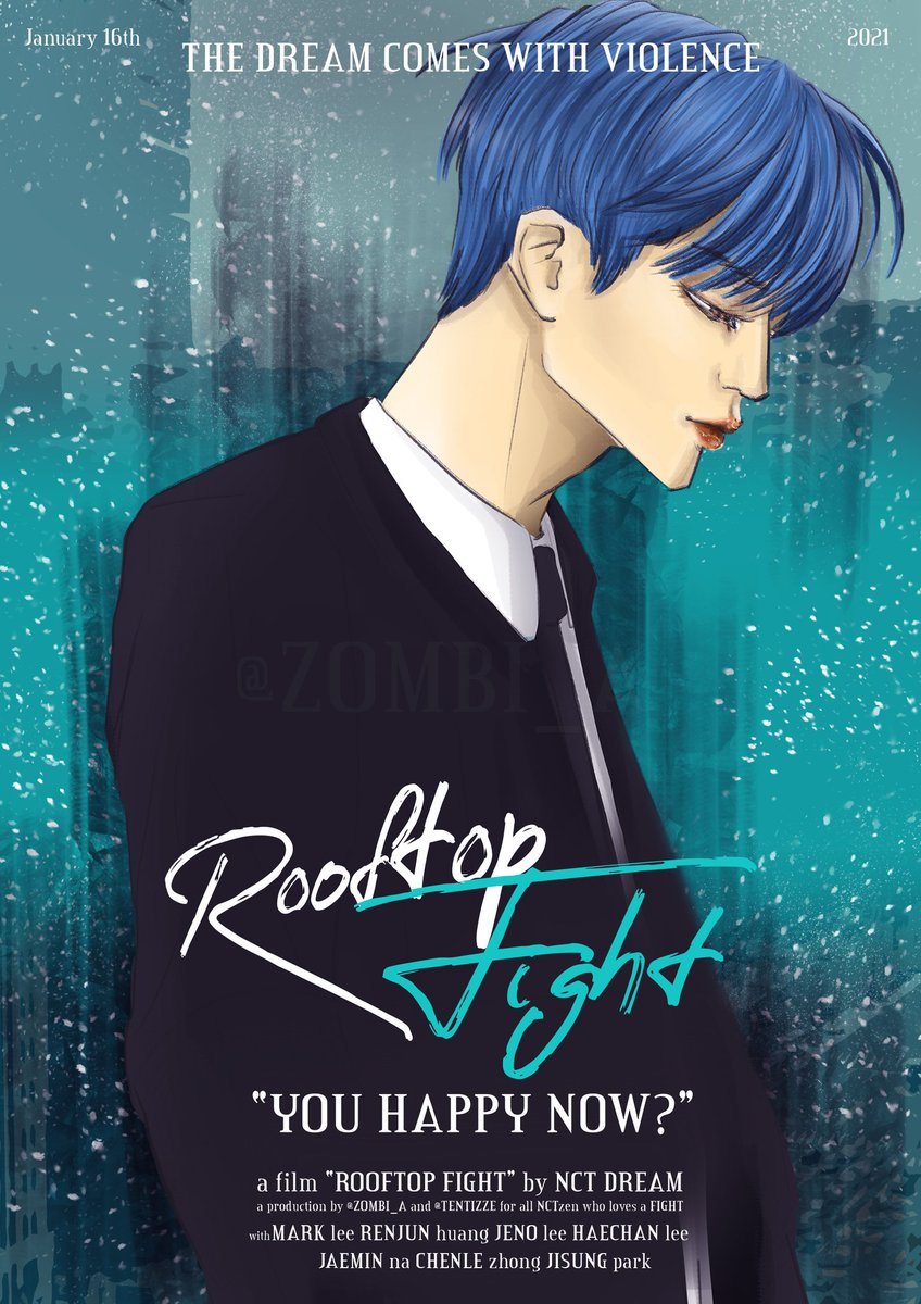 JENO — ROOFTOP FIGHT by NCT DREAM  #NCTDREAM #Rooftop_Fight #fanart