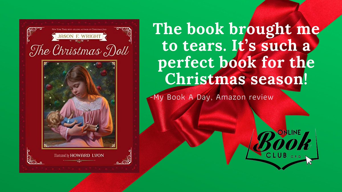 """""""This one by Jason F Wright will definitely be a new family favorite at Christmas.""""  OBC Bookshelves Page:   Jason on Twitter: @jasonfwright  And FB:   #Christian #Christmas #Holiday #Children #Illustrated #Kindness #Generosity #Book"""