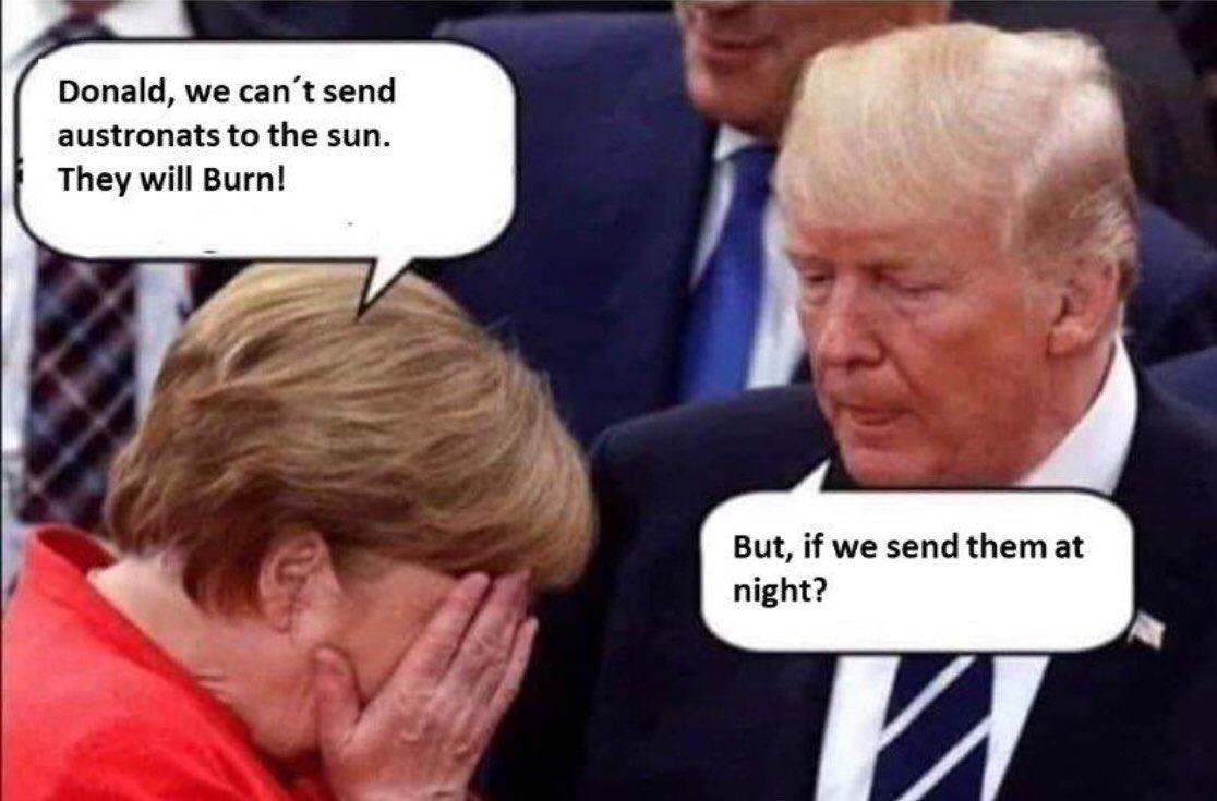 His irreverent logic #ThingsImGonnaMissAboutTrump