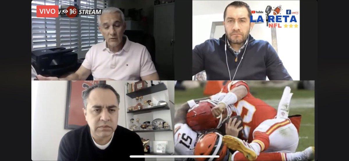 El análisis a fondo de las finales de conferencia de la #NFL #NFLTwitter  @Chiefs vs @BuffaloBills y @packers vs @Buccaneers todo un especialista @RaulAllegre gracias por estar en @La_RetaDepor