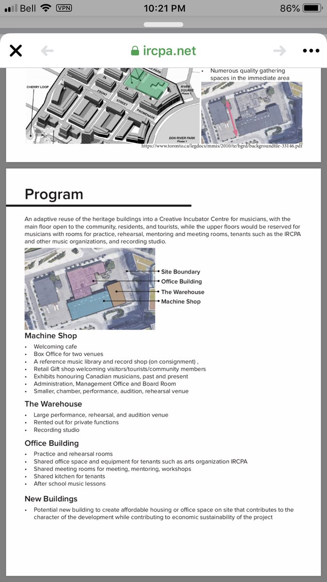 @wesleyjhall So you really care about arts & education? This was @IRCPA proposal for #FoundrySite Note space for practice & rehearsal rooms, after school music lessons, meeting rooms for mentoring & workshops #arts & #affordablehousing #profitoverpeople #SaveTheFoundry #Toronto https://t.co/eDQYUyVQdA