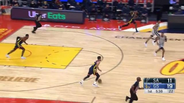 Steph is ridiculous 🤯