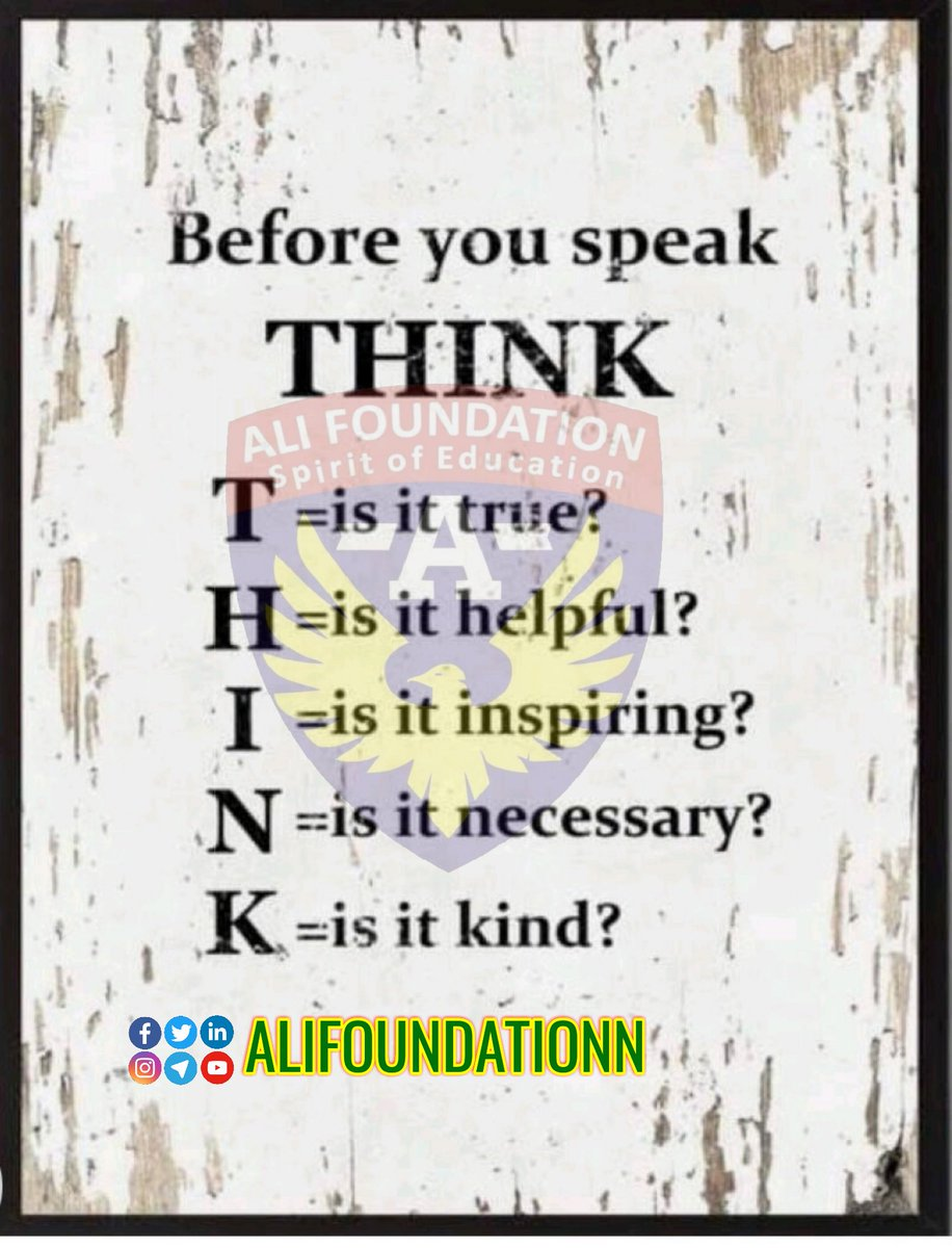 Before #speak #think carefully. After speak #becareful.  #AliFoundationN #AliFoundation #speakingup #listeningskills  #leadership #leadershipdevelopment #culture #diversity #inclusion #diversityandinclusion #womenleaders #equality #hr #workplace #skillstraining