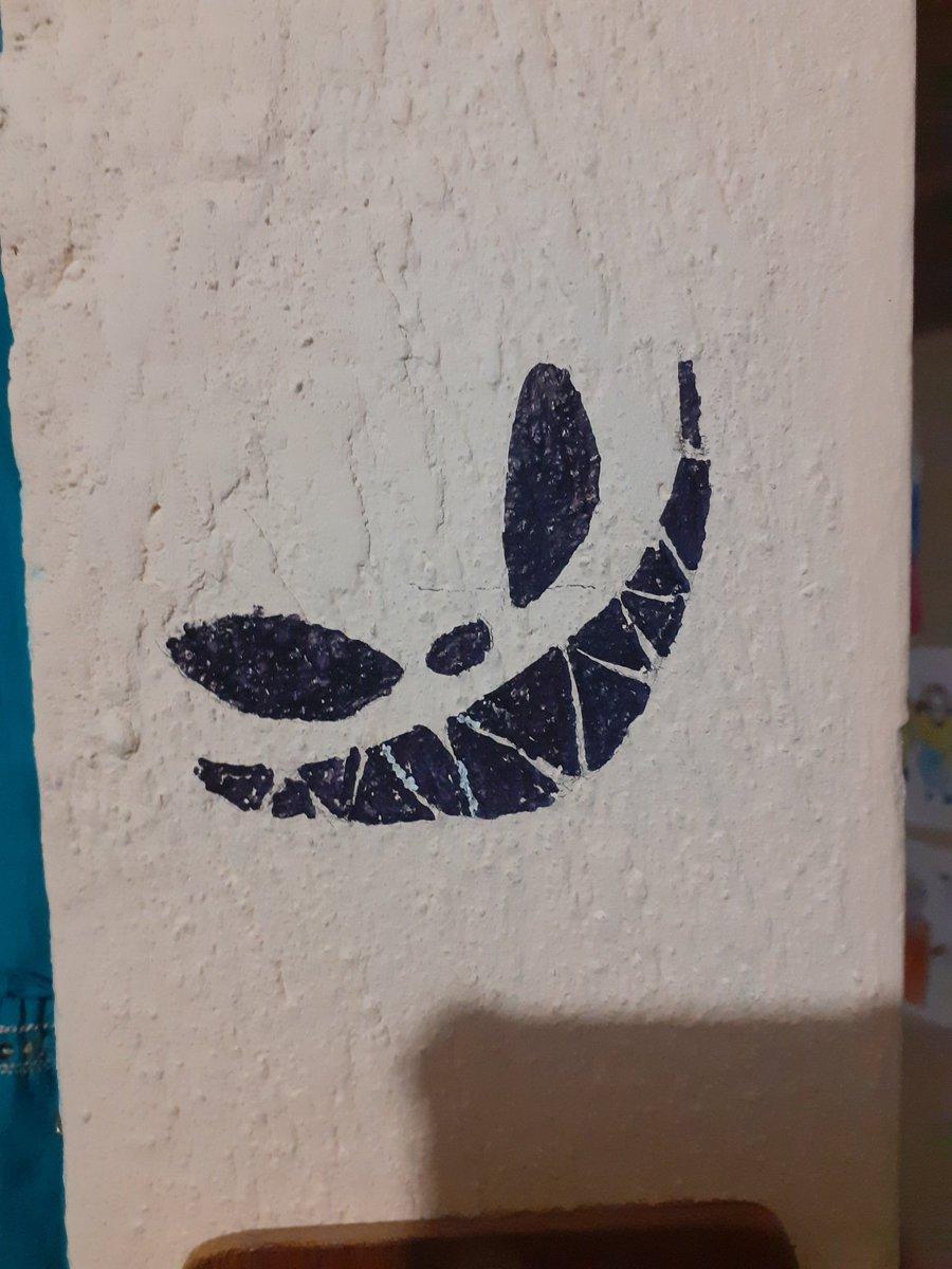 Lo que pinté en mi pared ♡♡♡♡ #rubiusfanart
