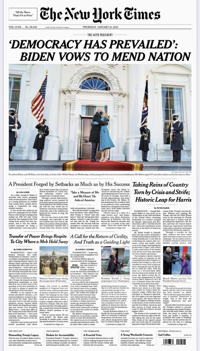 Tomorrow's @nytimes tonight: