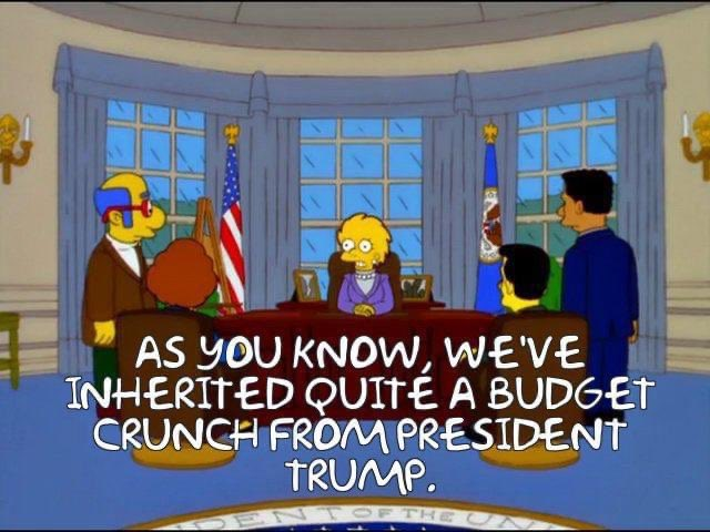"""Replying to @PhilHagen: Yeah, everything that ever will be has already been on """"The Simpsons"""". But this is a bit on the nose."""