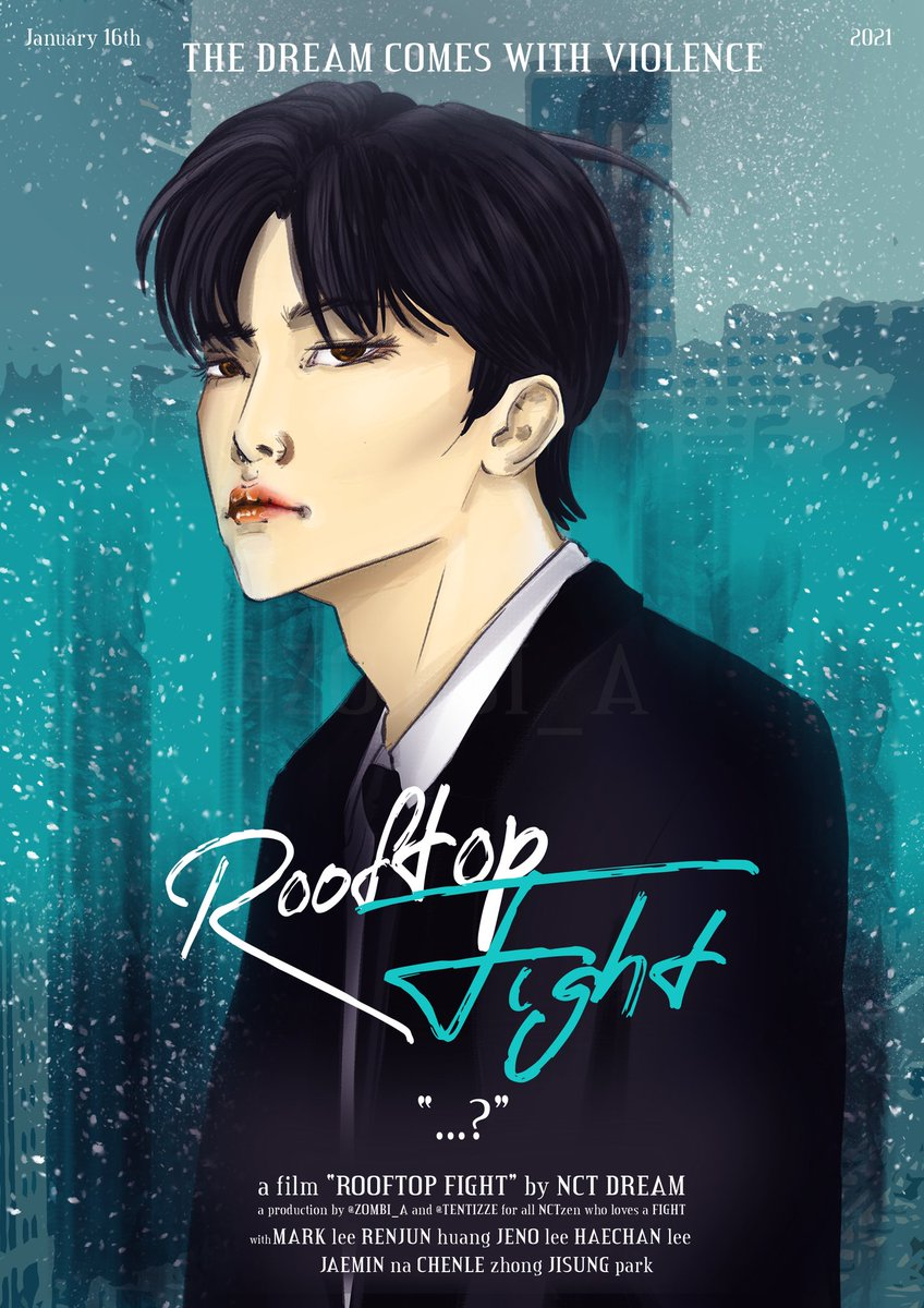 JAEMIN — ROOFTOP FIGHT by NCT DREAM  #NCTDREAM #Rooftop_Fight #fanart