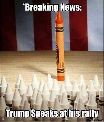#ThingsImGonnaMissAboutTrump How godawful people behaved at at his rallies.