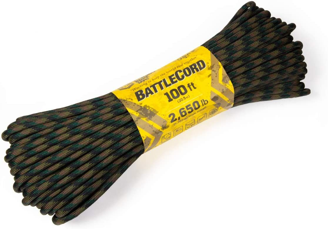 BattleCord for Camping, Survival, and Prepping Rope Now Available!  To purchase, click the link below 👇   #rope #survival #camping #prepping #adventure #gifts #picnic #family #friends #onhand