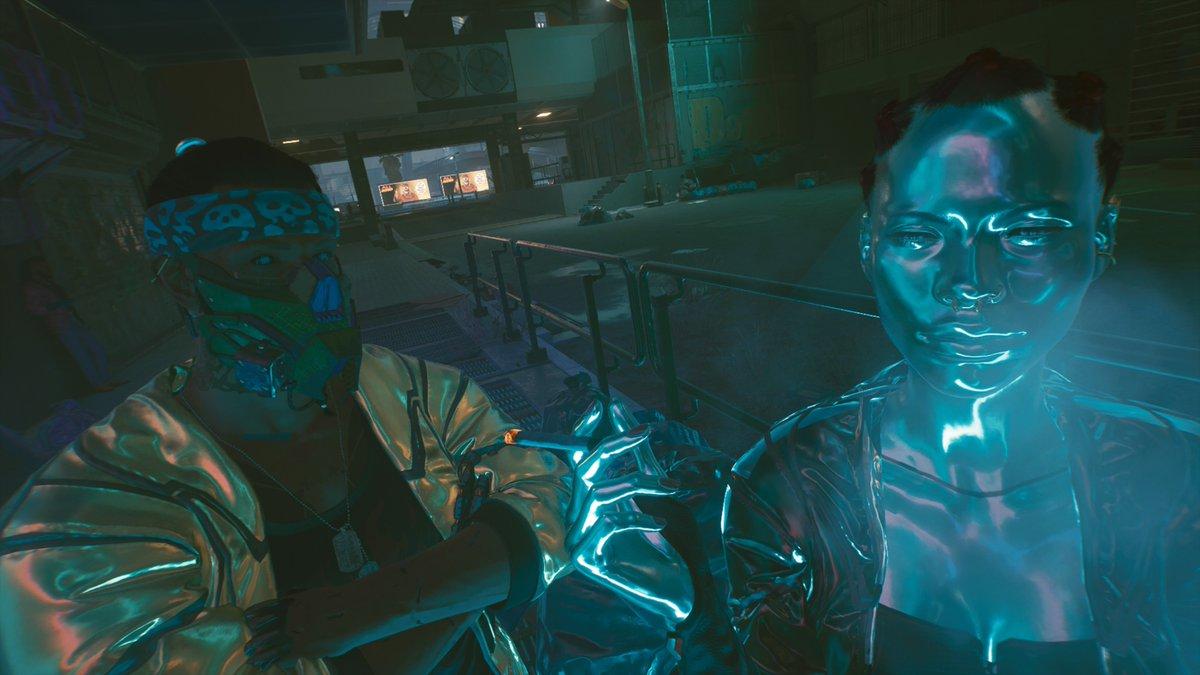 2077年のサザエさん #Cyberpunk2077 #PS4share