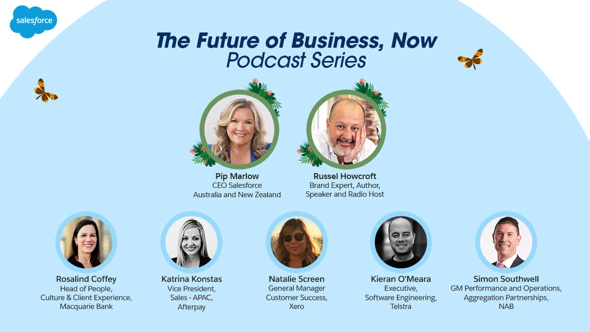 📣  Check out our NEW 'The Future of Business, Now' podcast series to hear ANZ business leaders share their insights on business growth and customer success with @pipms and @howcroft. 👉